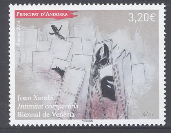 ANDORRA (FR.)- Biennal of Venice J Xandri- art