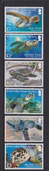 BR. INDIAN OCEAN (2016) Sea Turtle Conservation- hawk bill- green (6)