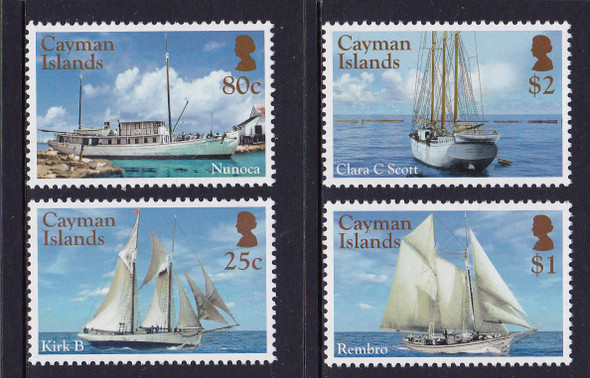 CAYMAN ISLANDS- Ships (4)