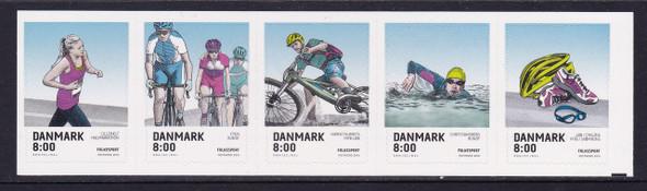 DENMARK (2017)- Popular Sports- biking- swimming- running- athletic gear (5)