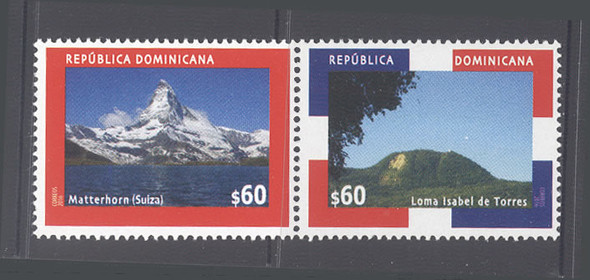 DOMINICAN REPUBLIC (2017)- Joint with Switzerland- mountains