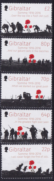 GIBRALTAR- Battle of Somme 100th Anniversary (5)