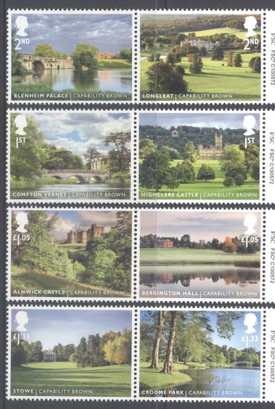 GREAT BRITAIN- Landscape Gardens 2016- castle- park- palace etc (8)