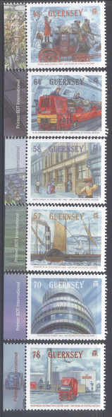 GUERNSEY- Postal History 500 years- Undergrd RR- mailcoach- steamboat (6)