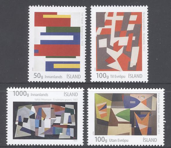 ICELAND- Geometric Abstract Art (4)