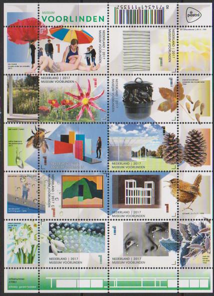 NETHERLANDS- Linden Museum- Sheet of 10
