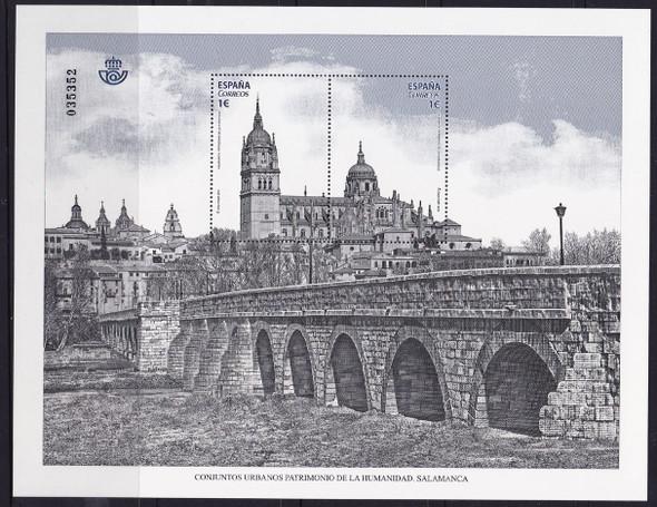 SPAIN- UNESCO Salamanca- Sheet of 2- bridge