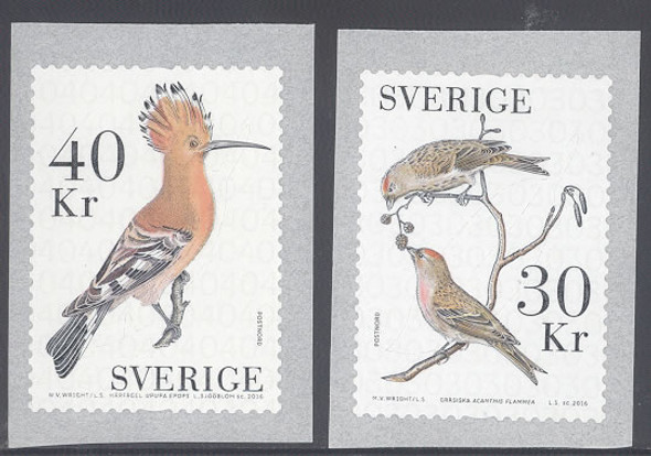 SWEDEN- Bird Coils 2016- self-adhesive (2)