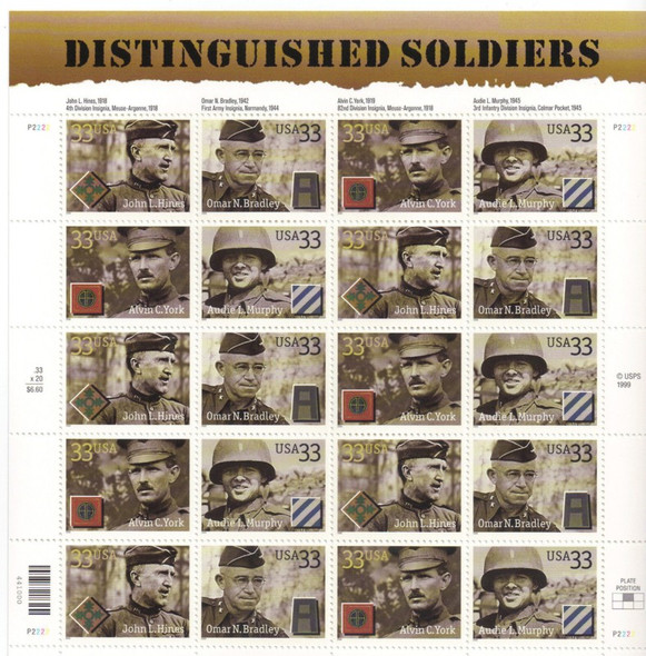 33c Distinguished Soldiers (2000)