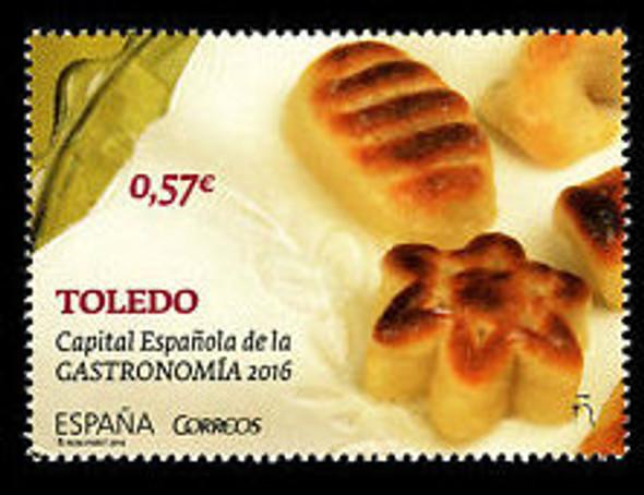 SPAIN (2016) Gastronomy, Food (1v)