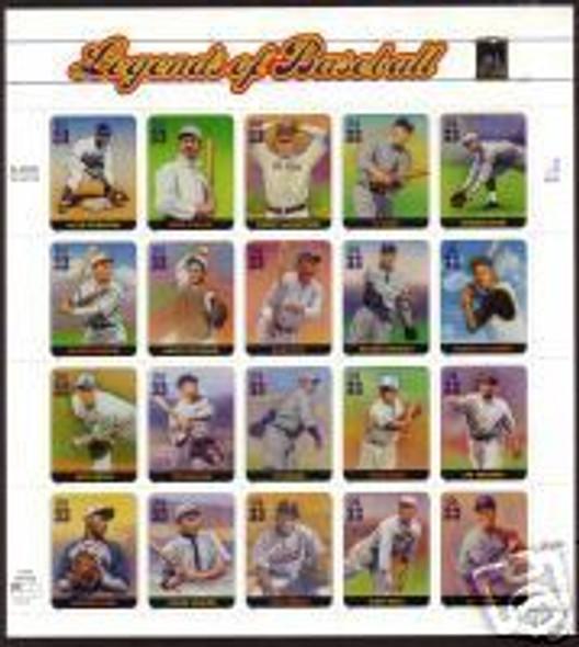 US 33c Legends of Baseball (2000)- #3408