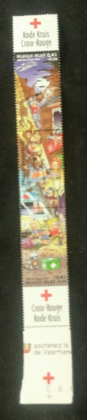 BELGIUM (2003) SC# B1166, Red Cross , Comics Strip