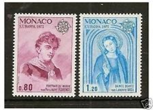 MONACO (1975) EUROPA ,Art,Paintings (2v)