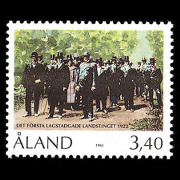 ALAND (1992)  70th Anniversary of the Local Parliament (1v)