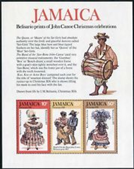 JAMAICA Christmas Issues,2 Different ,Jon Canoe, Music