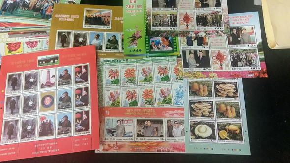 KOREA DPR Collection , SS, Sheet Assortment More Than 100 Items