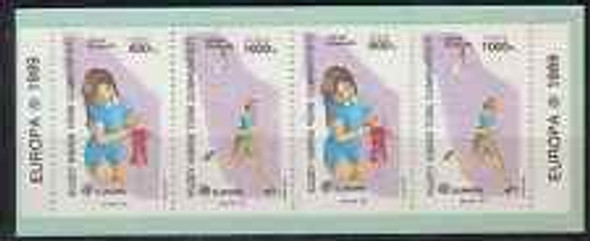 CYPRUS (1989) Europa,Children booklet