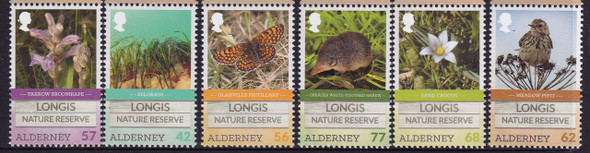 ALDERNEY (2016): Longis Nature Reserve- bird- butterfly- flowers- grasses (6)