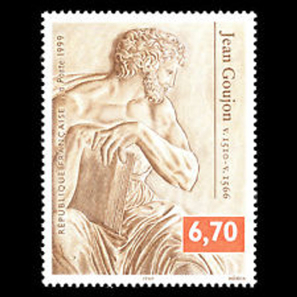 FRANCE (1999) sc#2700 Sculpture,Art (1v)