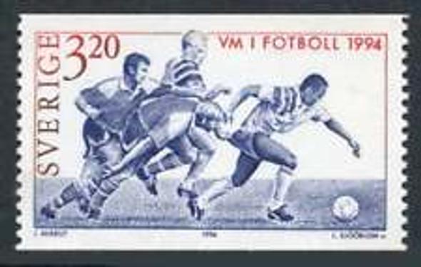SWEDEN (1994) sc#2082 Soccer ,World Cup (1v)