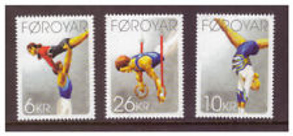 FAROE ISLANDS (2009) Gymnastics (3v)