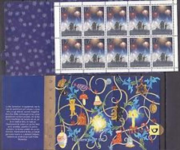 SLOVENIA (1999) Christmas,Fireworks Booklet