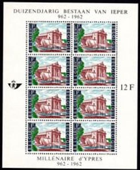 BELGIUM (1962) sc#B730 British War Memorial Sheet Of 8