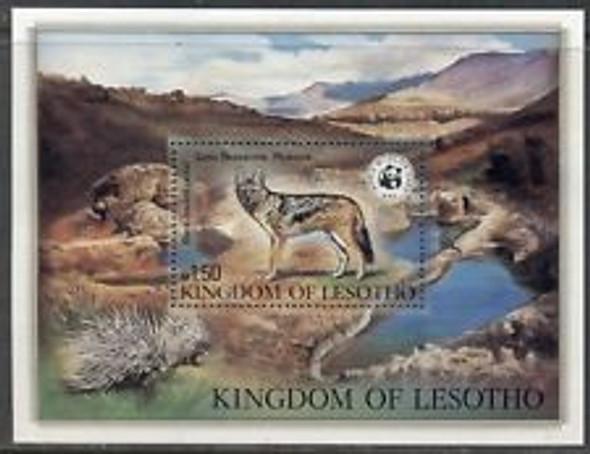 LESOTHO (1981) WWF Jackal SS