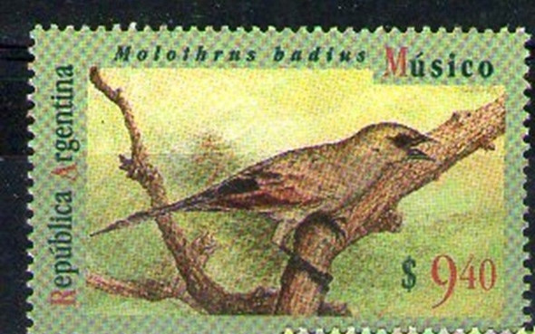 ARGENTINA (1995) Bird 9.40 Value