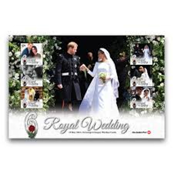 NEW ZEALAND (2018) Royal Wedding Large Sheet