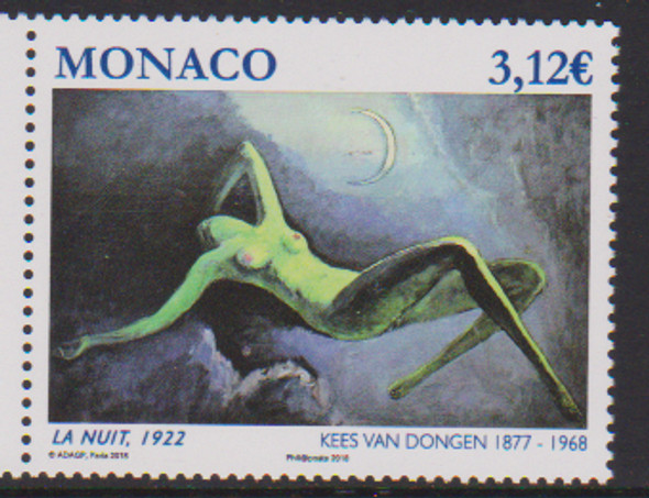 MONACO (2018) Nude Painting Dongen (1v)