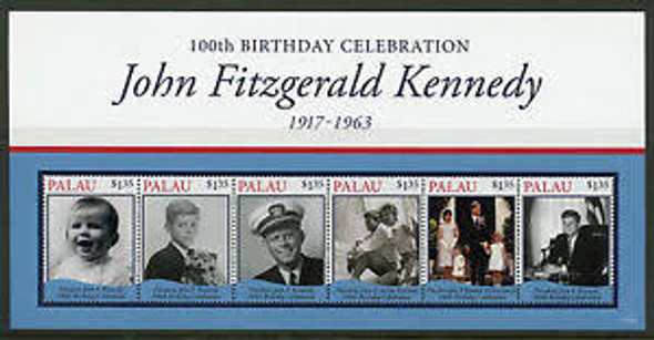 PALAU (2008) JFK KENNEDY,100years Sheet LAST ONE