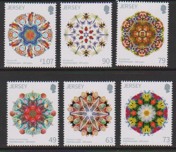 JERSEY (2017) Kaleidoscopes 200 Years (6v)