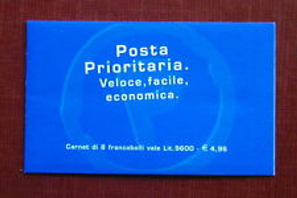ITALY (1999) Priority Booklet