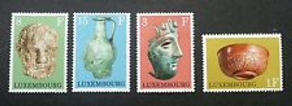 LUXEMBOURG 91972) sc#508-11 Artifacts (4v)