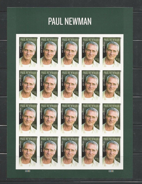 US (2016)- Paul Newman Sheet of 20v #5020a