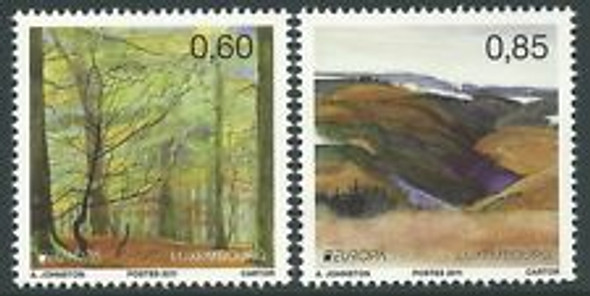 LUXEMBOURG (2011) Europa Year Of Trees  (2v)