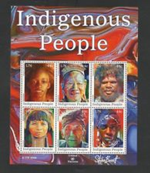 UNITED NATIONS (2009) Indigenous People FULL Set 3 Sheets