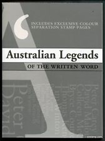 AUSTRALIA ( 2010) Legends Of The Written Word Prestige Booklet