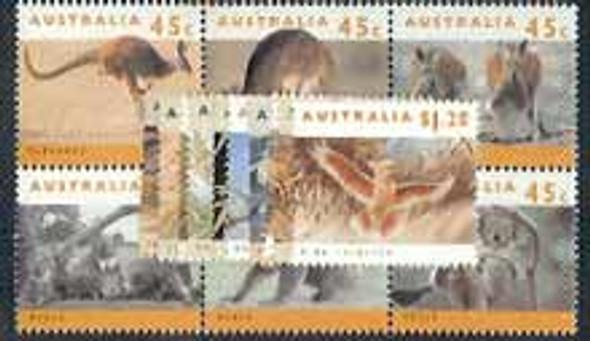 AUSTRALIA (1992)- Endangered Species (17 values)