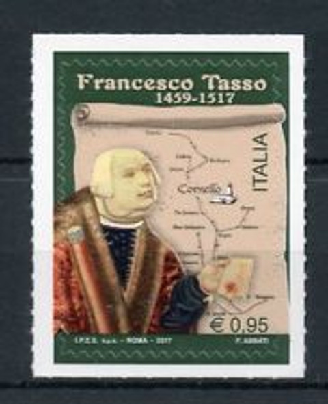 ITALY (2018) Francesco Tasso,Map SA (1v)