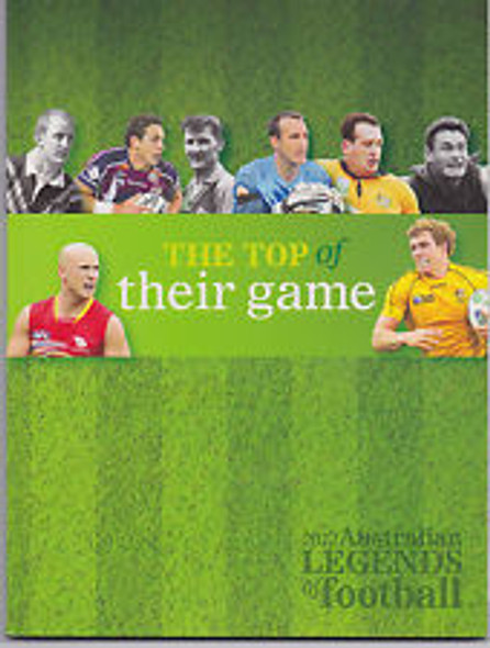 AUSTRALIA (2012) Legends Of Football Prestige Booklet