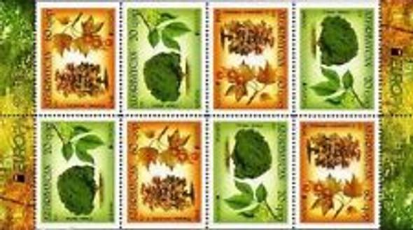 AZERBAIJIN (2011) Europa ,Trees booklet LAST ONE