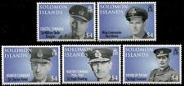 SOLOMON ISLANDS (2008) Royal Airforce (5v)