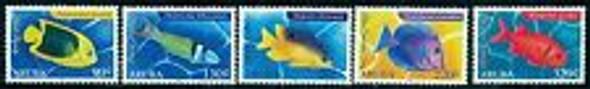 ARUBA (2016) FISH (5v)