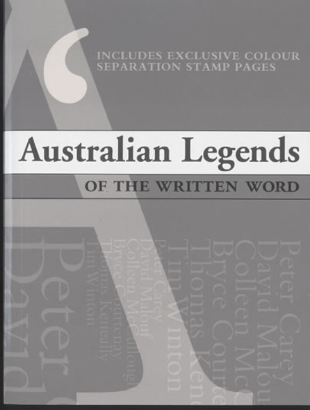 AUSTRALIA- Legends of the Written Word Prestige Booklet
