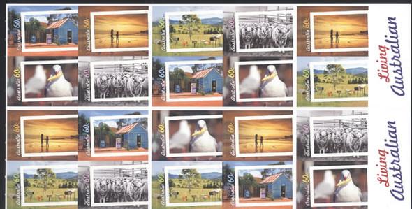 AUSTRALIA- Living Australia Booklet- self-adhesive
