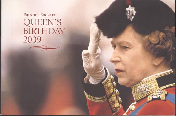 AUSTRALIA- Queen Elizabeth Birthday Prestige Booklet