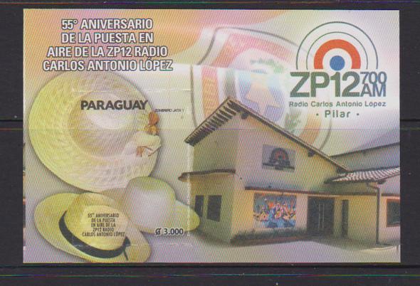 PARAGUAY (2017)- RADIO HATS SOUVENIR SHEET