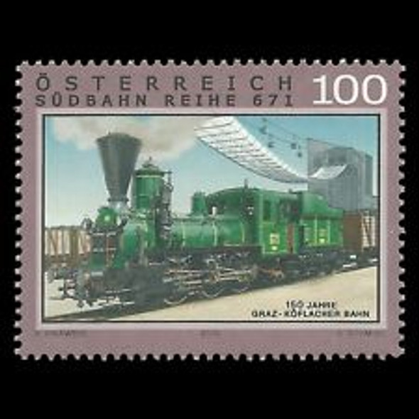 AUSTRIA (2010) Graz Koflacher Railway, Train (1v)